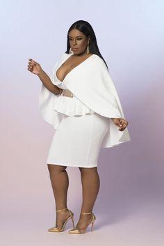 vêtements grande taille blancs