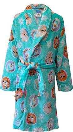 Bathrobes for Girls.  Frozen Themed Bathrobe.