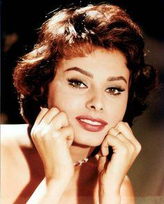 Sophia Loren, 1957.