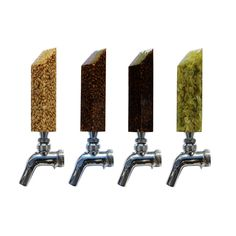 Mashed In makes beautiful custom beer tap handles from actual brewing ingredients including Hops, a variety of grains and more. I have four of these tap handles. As you can imagine, I have a lot o…