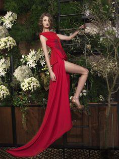 """ Malina Cristisor by Cristian Floriganta for Simona Semen, S/S 2014 "" Red Fashion, Fashion News, Fashion Show, Fashion Music, Victoria Secrets, Best Model, Fashion History, Fashion Pictures, Classy Outfits"