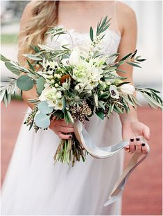 This beautiful bohemian wedding styled shoot was featured on Green Wedding shoes. The theme of the shoot was geometrics and a geode wedding. Click through to see all of the details and PIN to your own boards. Matching items are available for this eucalyptus bouquet