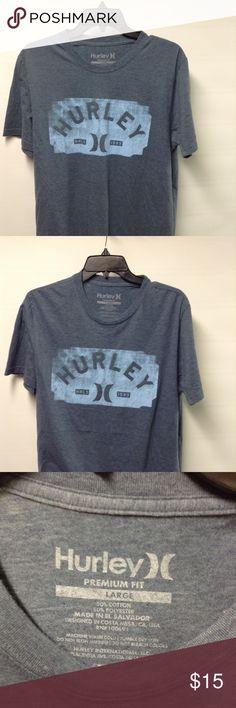 Hurley t-shirt Large 50% Cotton 50% Polyester Hurley Shirts Tees - Short Sleeve