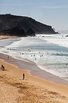 Beautiful beach in Sagres  Portugal
