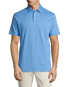 Collection Perfect Pique Polo Shirt, Oltremare