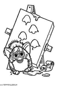 furby coloring pages | furby 001 furby 002 furby 003 furby 004 furby 005