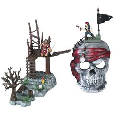 Mega Bloks Pirates of the Caribbean Skull Playsets by Mega Brands ** Click image for more details. (This is an affiliate link) #NoveltyGagToys