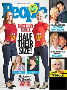 Check out People Magazine's latest Half Their Size issue featuring Jenny Craig client Ginger Stauffacher.