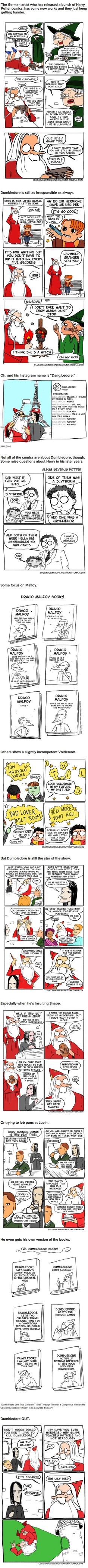 These Harry Potter Comics Prove That Dumbledore Was Totally Irresponsible! - 9GAG