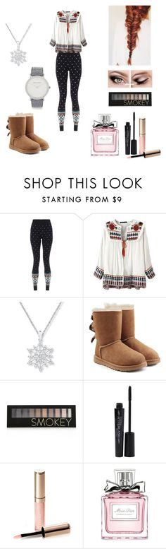 """Alice's date"" by emmygemmy4 ❤ liked on Polyvore featuring Sweaty Betty, UGG, Forever 21, Smashbox, By Terry, Christian Dior and Larsson & Jennings"