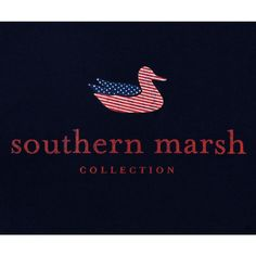 Southern Marsh Authentic Flag S/S T-Shirt - Navy. Featuring the Southern Marsh mallard silhouette logo on the back and our authentic logo on the front pocket. Southern Marsh, Southern Tide, Southern Prep, Southern Comfort, Southern Charm, Down South, Barbour, World Of Fashion, Men's Fashion