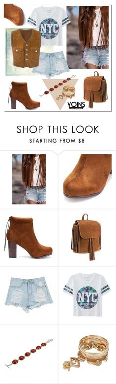 """""""YOINS.COM"""" by ilona-828 ❤ liked on Polyvore featuring Aéropostale, Dsquared2, women's clothing, women, female, woman, misses, juniors, polyvoreeditorial and yoins"""