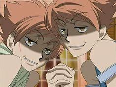 Hikaru & Kaoru Hitachiin...That look...Nothing good ever comes from that look o.o