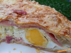 "Pie ""ala"" hemendex Czech Recipes, Pizza, Sandwiches, Food And Drink, Lunch, Breakfast, Czech Food, Morning Coffee, Eat Lunch"