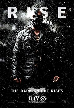 The Dark Knight Rises <3 Can't wait to see this!!