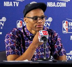The Rorschach - of the ridiculous and awesome shirts worn by Russel Westbrook