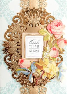 HSN March 27th-28th, 2019 - Product Preview 1 - Anna Griffin Card Making Inspiration, Making Ideas, Craft It Yourself, Birthday Sentiments, Birthday Cards, Decoupage, Anna Griffin Cards, Shabby Chic Crafts, Card Patterns