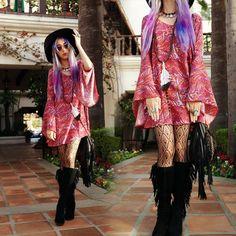 #boho #bohemian #gypsan #stardustbohemian #dress #boots #outfit #lookbook #ootd