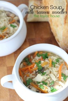 Chicken Ramen Noodle Soup - The Taylor House