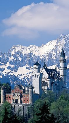 Neuschwanstein Castle ~ Germany