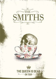 The Smiths The Queen Is Dead tour poster by KAYLEWHITHAM on Etsy