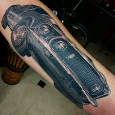 Ford tattoo mustang
