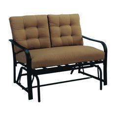 Living Accents Roma Steel 2 Person Glider (G6228HG31CL62) - Gliders and Swings - Ace Hardware