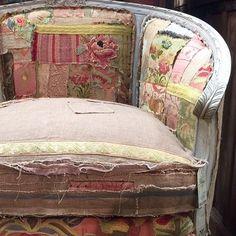 New Arrival-velveteen rabbit chair. Carol Hicks Bolton Antiquites. Fredericksburg.