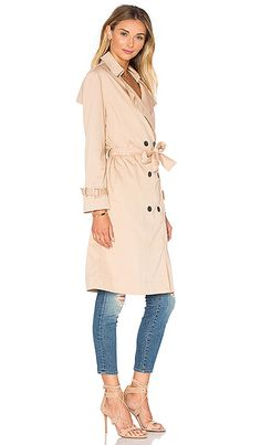 Shop for Lucca Couture Ali Trench Coat in Tan at REVOLVE. Free 2-3 day shipping and returns, 30 day price match guarantee.