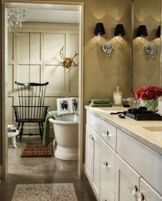 Delightful Designer Bathroom | Content in a Cottage