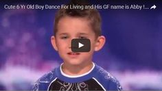 Cute 6 Yr Old Boy Dance For Living and His GF name is Abby ! Cute & Entertaining!