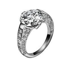 Limelight #engagement #ring G34L5600   White gold, diamonds