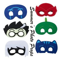 Hey, I found this really awesome Etsy listing at https://www.etsy.com/listing/285830289/party-packs-35101520-pj-masks-mask