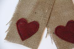 Just Between Friends: Burlap and Felt Bunting