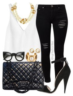 """Upper Class Chic"" by highfashionfiles ❤ liked on Polyvore"
