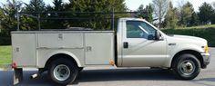 2001 Ford F-350 Super Duty Utility Truck