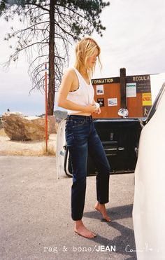 Camille Rowe for the D.I.Y Project | rag & bone