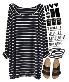 """""""Tireddd"""" by puhizaxox ❤ liked on Polyvore featuring Pelle, Typhoon, Goody, black and navyblue"""