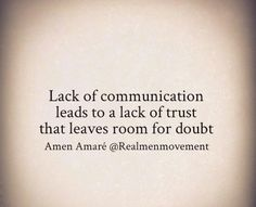 I cant work with anyone who wont communicate, or at least try to. Thats something that will never work for me, non communication