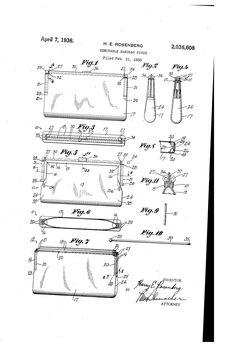 Brevetto US2036608 - Removable handbag cover - Google Brevetti