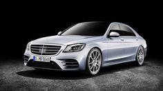Dòng xe sedan hạng sang cỡ lớn Mercedes S-Class 2018 phiên bản nâng cấp thiết kế, trang bị vừa chính thức được giới thiệu tại triển lãm ô tô thượng Hải 2017