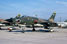 A Republic F-105 Thunderchief.
