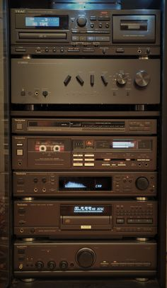 Hifi Stereo, Hifi Audio, Hi Fi System, Audio System, Radios, Kenwood Audio, Music Studio Room, Speaker Amplifier, Audio Room