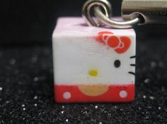 per cute kawaii hello kitty cell phone strap PAINT ERROR