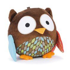 Fajna, sensoryczna zabawka dla malucha <3 Od Skip Hopa :) Sówki są cudowne <3