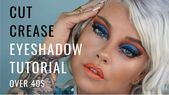 Too Faced Palm Springs Dreams Palette Cut Crease Eyeshadow Tutorial Over Nicqui Madden,