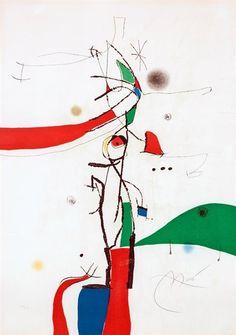 Joan Miró, DEMI-MONDAINE A SA FENETRE