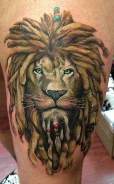 rasta lion tattoos - Google Search