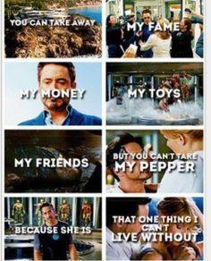 Tony <3 Pepper