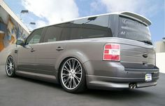 customized ford flex | CFM FLEX with NEW 3d carbon body kit Ford Flex, How To Read Faster, Van Camping, Camper Conversion, American Muscle Cars, Station Wagon, My Ride, Cool Cars, Dream Cars